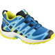 Salomon Junior XA Pro 3D Shoes Indigo Bunting/White/Sulphur Spring